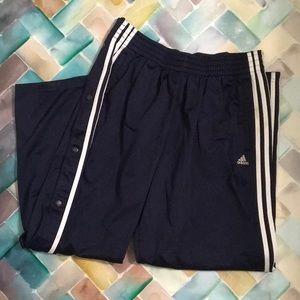 Men's dark blue Adidas pants